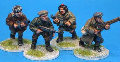 The WWII Miniatures Showcase: Civilians and Partisans