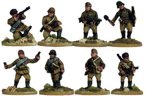 "Ukraine scale plastic model kits figures, ""Counterattack, Soviet ..."